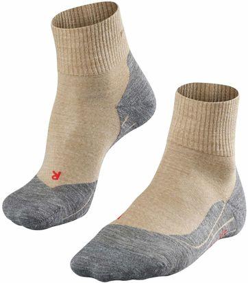 FALKE TK5 Wander Socken Short Beige