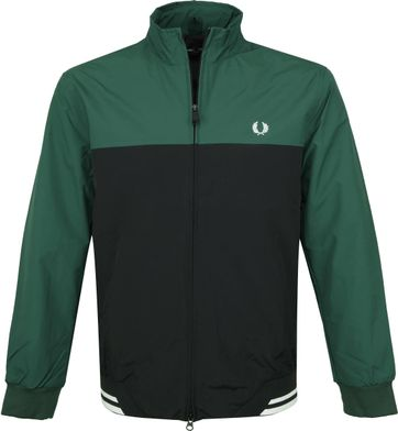 Fred Perry Jack Ivy Donkergroen
