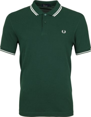 Fred Perry Polo Grün 406