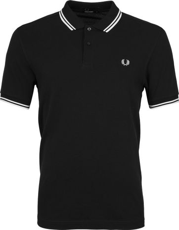 Fred Perry Polo Schwarz 524