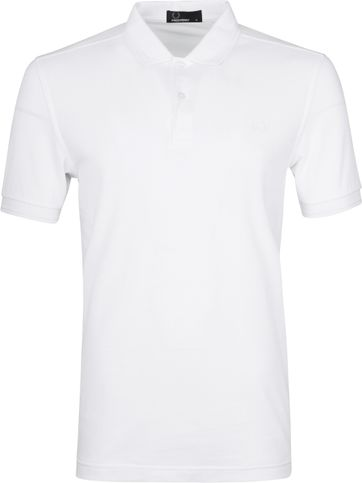 Fred Perry Polo Wit G33