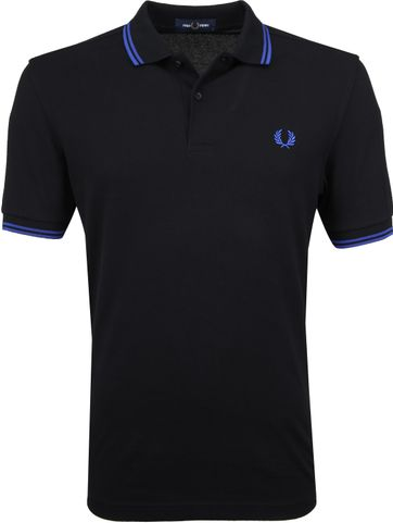Fred Perry Poloshirt Black
