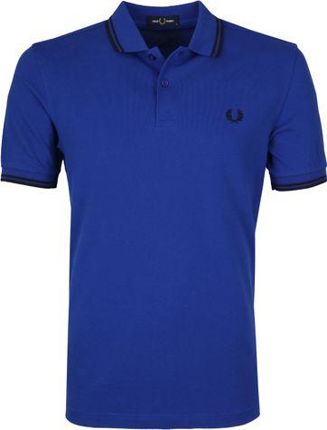 Fred Perry Poloshirt Blau L44