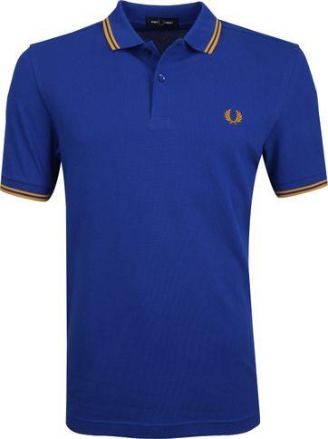 Fred Perry Poloshirt Cobalt Blue