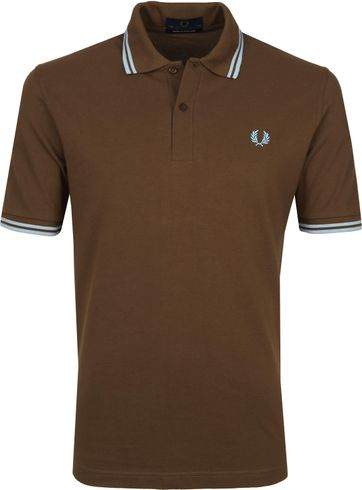 Fred Perry Poloshirt M12 Brown