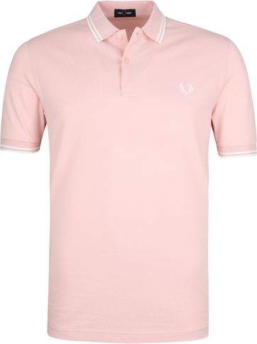 Fred Perry Poloshirt Pink K23
