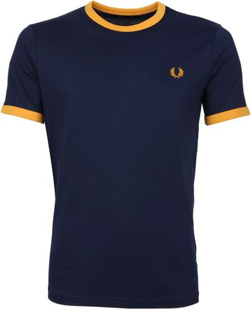 Fred Perry T-Shirt Donkerblauw