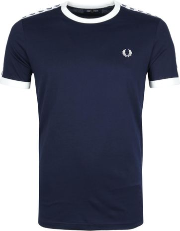 Fred Perry T-Shirt Donkerblauw M6347