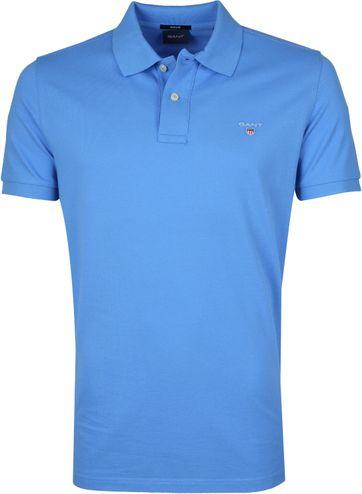 Gant Basic Polo Blue