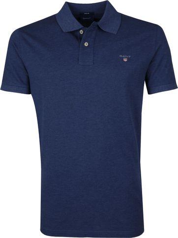 Gant Basic Polo Donkerblauw