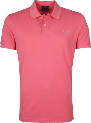 Gant Basic Polo Pink
