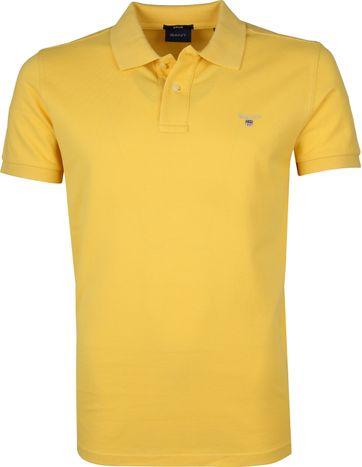 Gant Basic Polo Yellow