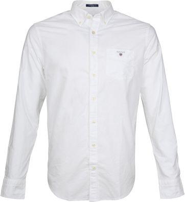 Gant Casual Hemd Oxford Weiß