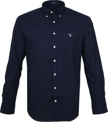 Gant Casual Shirt Broadcloth Marine