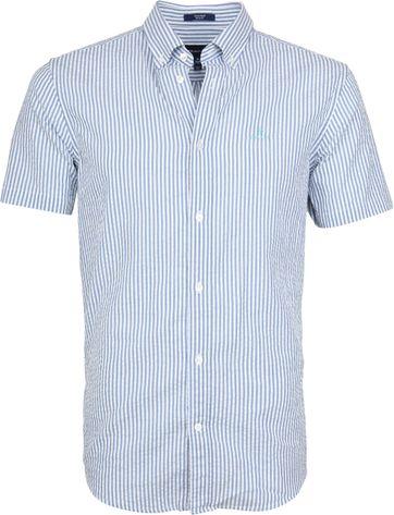 Gant Hemd Seersucker Streifen