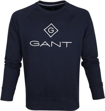 Gant Lock Up Sweater Dark Blue