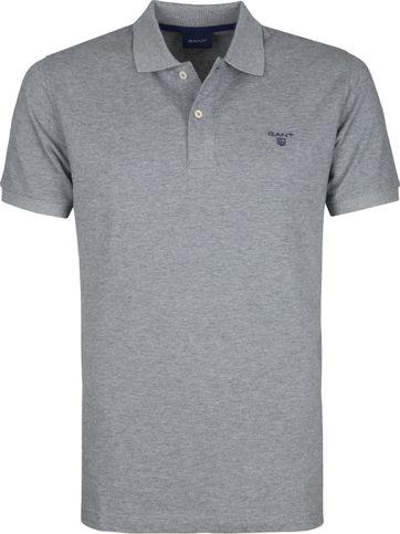 Gant Poloshirt Rugger Grau