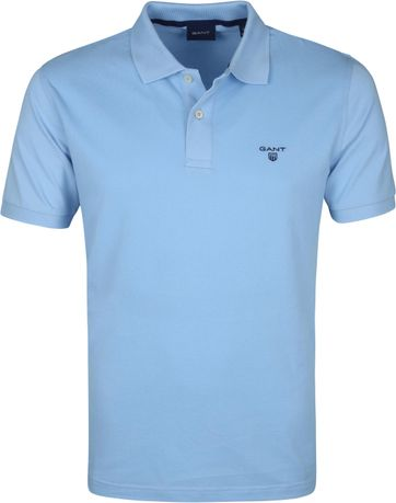 Gant Poloshirt Rugger Light Blue