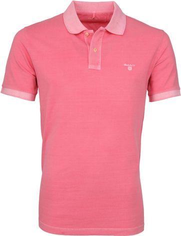 Gant Poloshirt Sunbleached Roze
