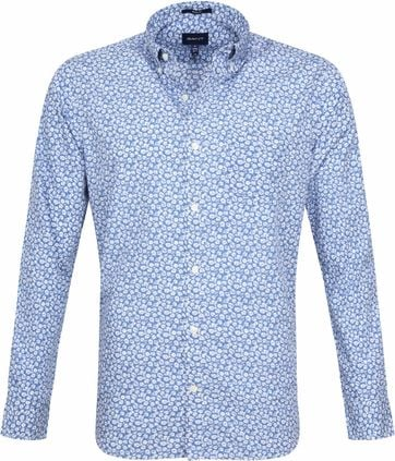 Gant Shirt Flowers Blue