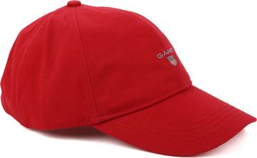 Gant Twill Kappe Rot