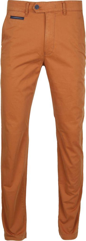 Gardeur Chino Braun Orange Benny 3