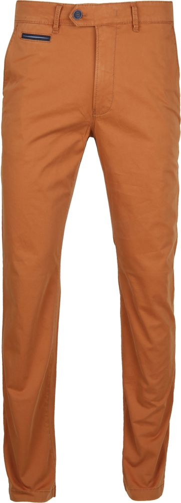 Gardeur Chino Brown Orange Benny 3