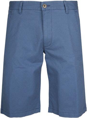 Gardeur Short Bermuda Dessin Blauw