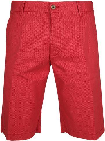 Gardeur Short Bermuda Dessin Red