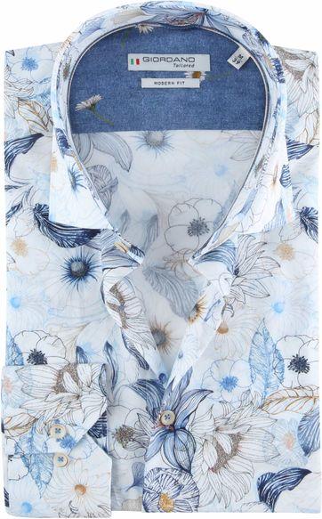 Giordano Hemd Maggiore Blau