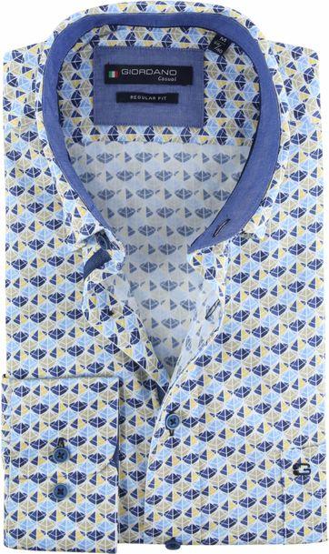 Giordano Overhemd Dessin Driehoek