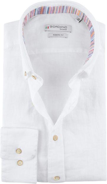Giordano Toririno Overhemd Wit