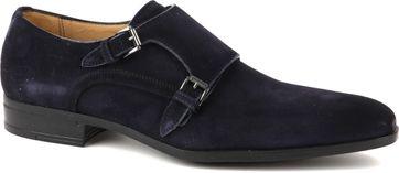Giorgio Amalfi Shoe Monk Strap Navy