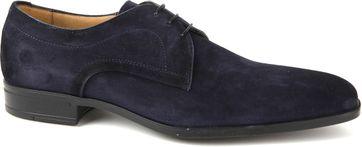 Giorgio Amalfi Shoe Suede Deep Blue