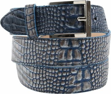 Giorgio Belt Cerby Blue Grey