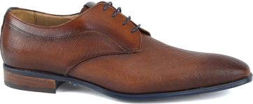 Giorgio Pampas Leather Shoe Brown