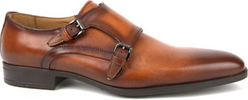 Giorgio Scandicci Shoe Monk Strap Brown