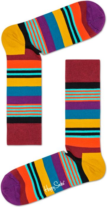 Happy Socks Multi Color Stripe