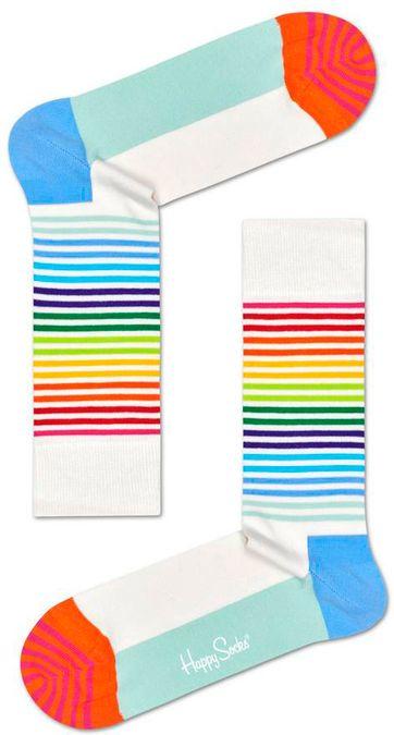 Happy Socks Regenbogen Streifen