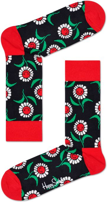 Happy Socks Sonnenblume Red