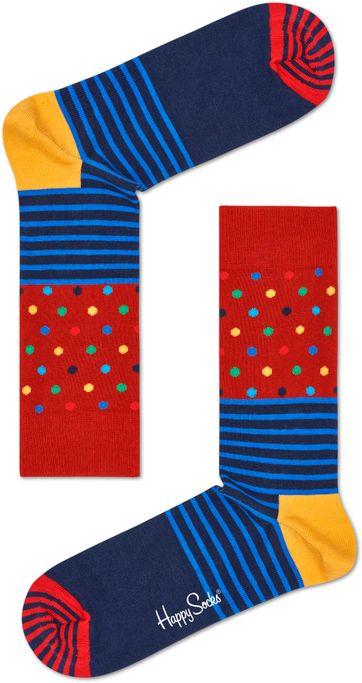 Happy Socks Streifen Punkte