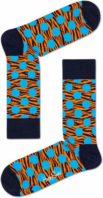 Happy Socks Tijger Stippen