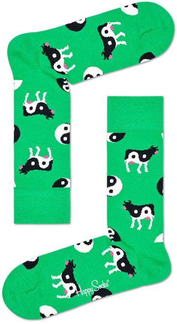 Happy Socks Ying Yang Cow