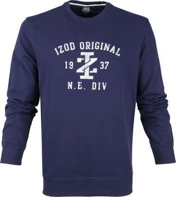 IZOD Casual Sweater Darkblue