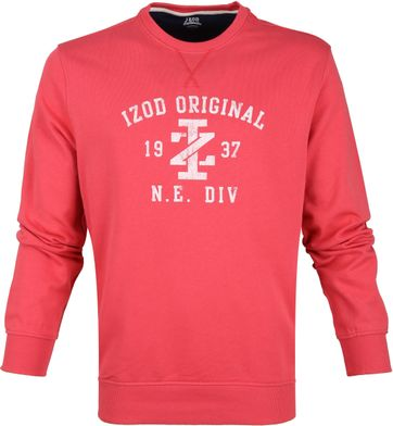 IZOD Casual Sweater Red