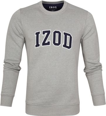 IZOD Fleece Sweater Sport Flex Lichtgrijs