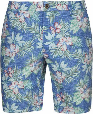 IZOD Floral Federal Short Blue