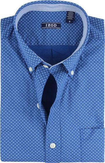 IZOD Overhemd Druppels Donkerblauw