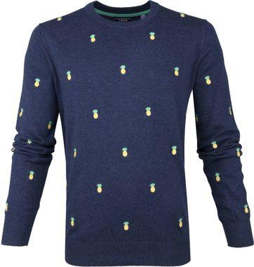 IZOD Pullover Ananas Blau
