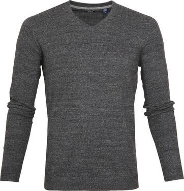 IZOD Pullover V-Neck Grau